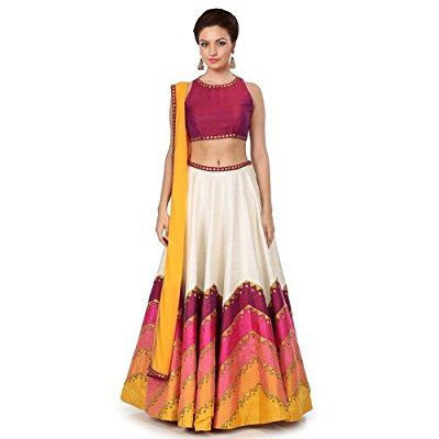 Z Fashion Maroon Lehenga Cholis