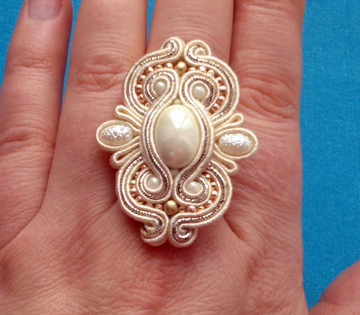 pierścionki sutasz, soutache, biżuteria, ręcznie robiona, na zamówienie