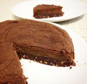 Vegan Cacao Avocado Cake (plus raw option) | Try This Bliss