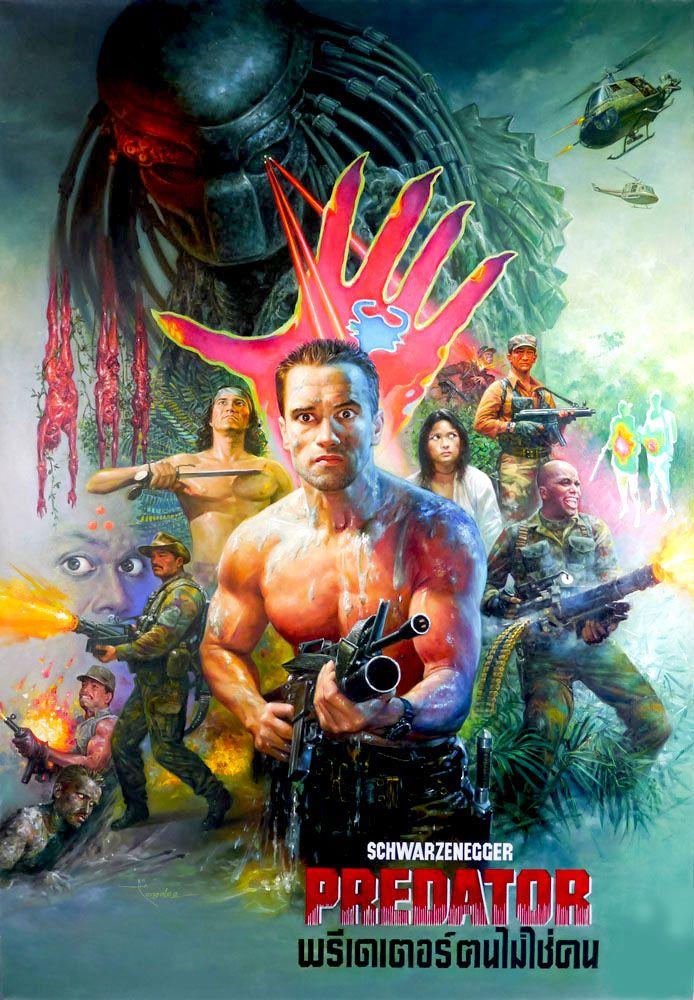 Predator Thai poster (John McTiernan, 1987)