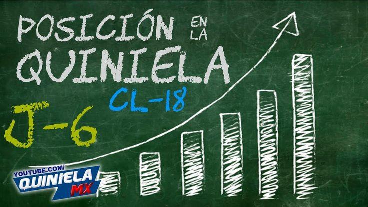 Líder de la Quiniela y Mejor Pronosticador Jornada 6 Liga MX Clausura 20...