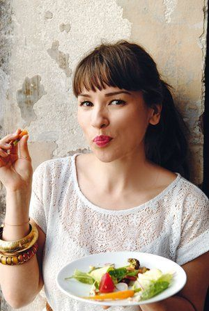 Rachel Khoo. Funny, cute and an amazing chef living in Paris. How could I not be in love with her?!