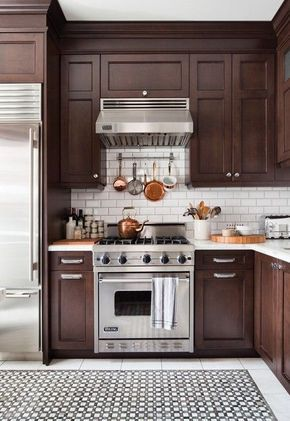 Best Countertop for Stained Wood Cabinets   Maria Killam   True Colour Expert   Decorator