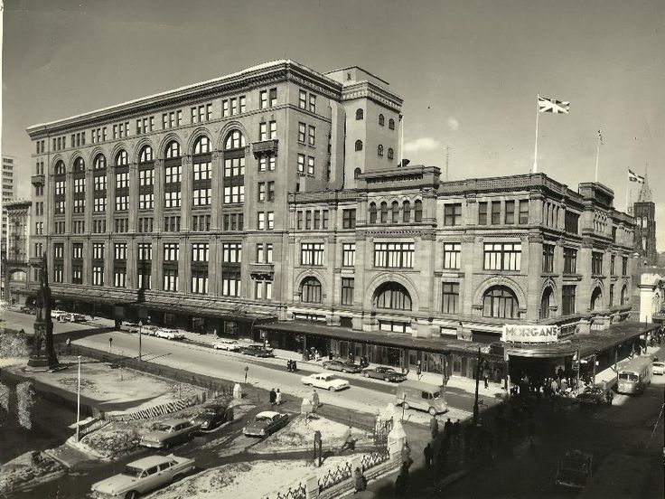 Interested in the history behind Montreal's Hudson's Bay building? Read more here from the Montreal Gazette.