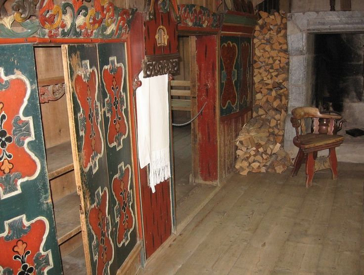 Old Folk Art at Maihaugen Open Air Museum in Lillehammer, Norway - From THE ESSENCE OF THE GOOD LIFE™ -   https://www.facebook.com/pages/The-Essence-of-the-Good-Life/367136923392157