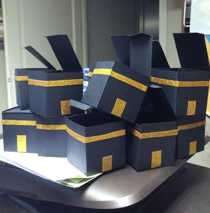 Kaaba boxes gift for ramadan or eid