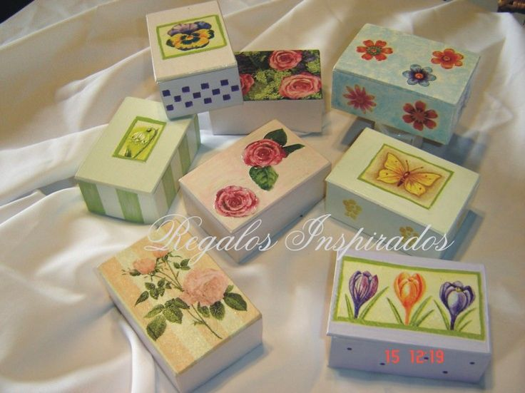 86 best images about cajas on pinterest sewing box owl - Cajas para decoupage ...