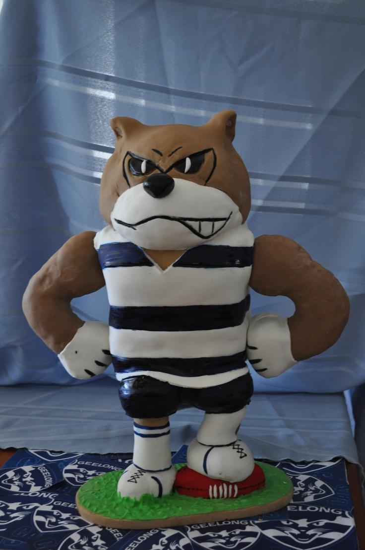 Geelong Football Club mascot cake