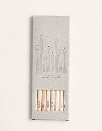 pencil packaging. PD