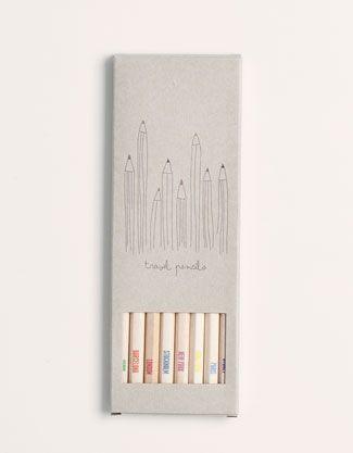 Pack colour pencils