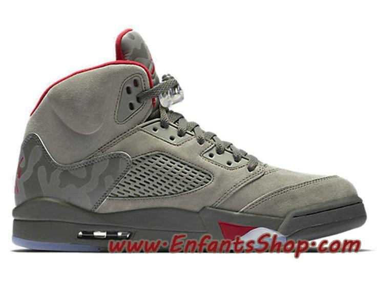 Air Jordan 5 Retro Reflective Camo 136027-051 Chaussures Jordan 2017 Pas  Cher Pour Homme