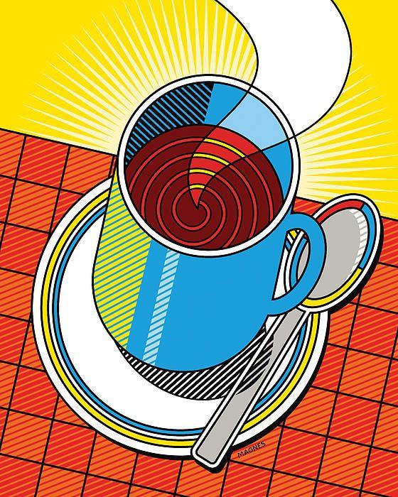 17 best images about ron magnes on pinterest shops for Diner artwork