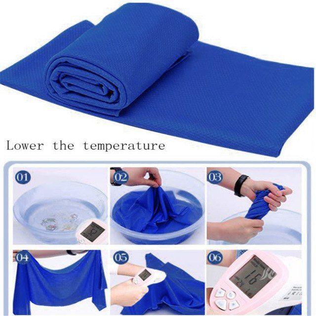 Cold Sensation Beach Towel Drying Travel Sports Swiming Bath Body Towelyoga Mat Jul12 Professional Factory Price Drop Shipping R Beach Towel Yoga Blanket Towel