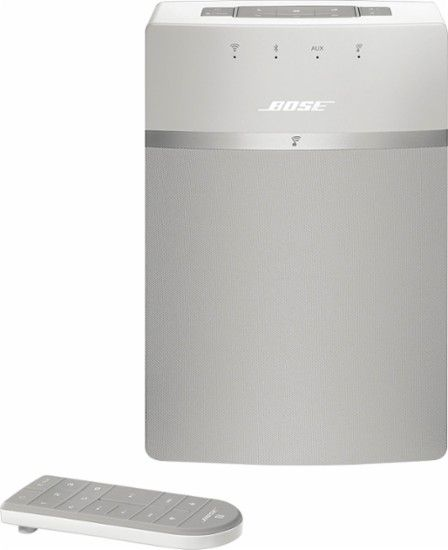 Bose® - SoundTouch® 10 Wireless Music System - White - Front Zoom- maybe 2 more ?