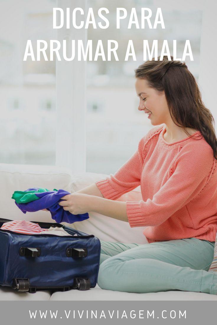 Viajar é maravilhoso, mas a hora de arrumar as malas na maioria das vezes não é muito legal. São muitas as dúvidas no momento de escolher os itens que devem compor a mala. Temos medo de exagerar e passar do limite permitido de bagagem ou de ser contida e esquecer algum item essencial. Por isso, resolvi te dar algumas DICAS PARA ARRUMAR A MALA. #Dicas #Ciajsr