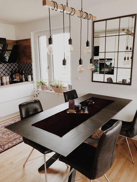 Edgy Boho Küche - leuchten wohnzimmer landhausstil