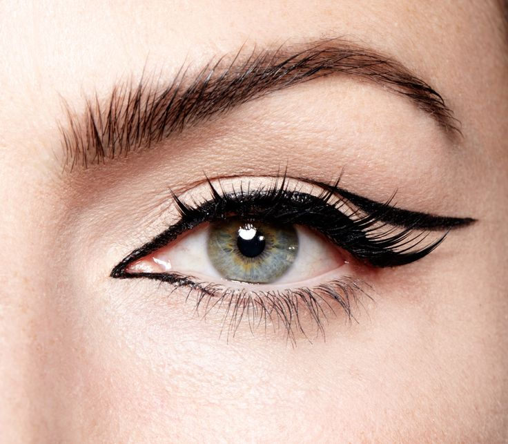 A new take on the winged eye for the holiday season. Get the look with our Little Black Liner!