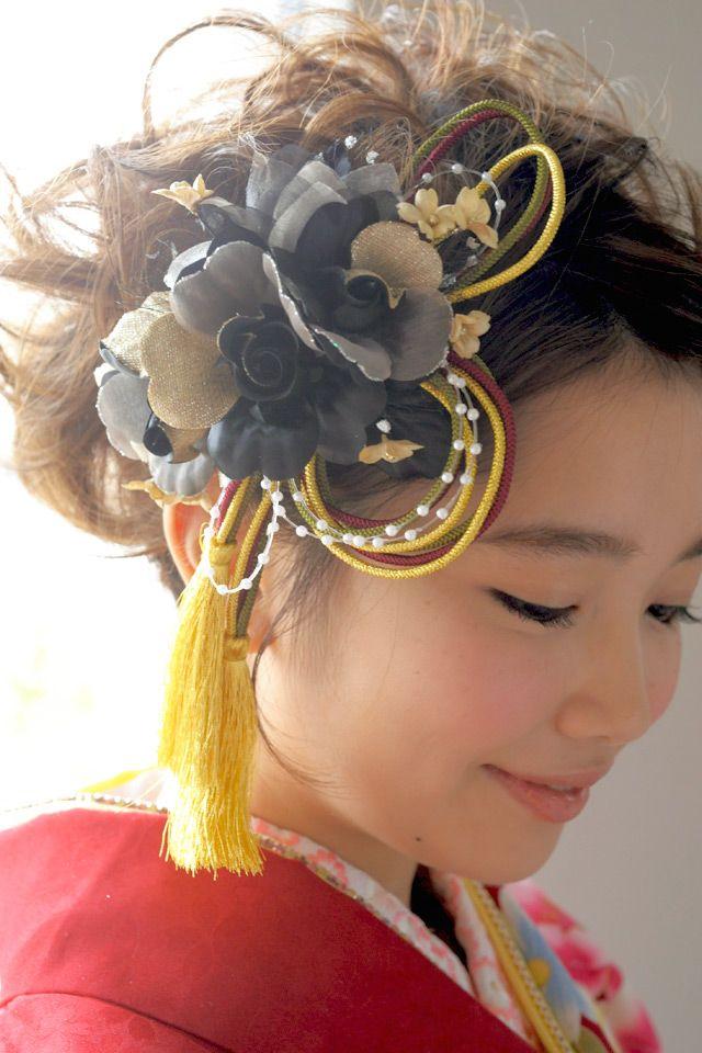 成人式 髪飾り 花 - Google 検索