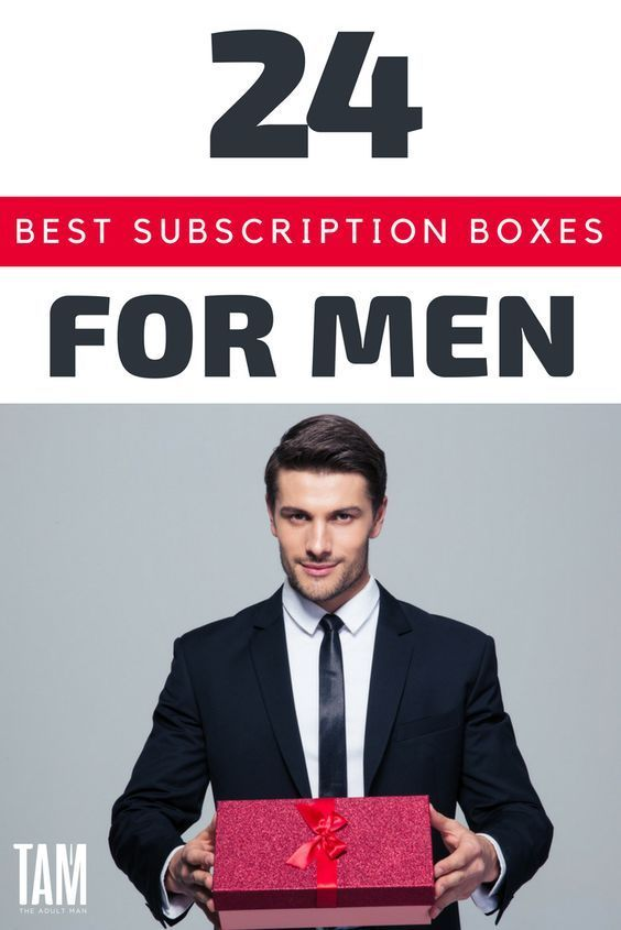 33 Best Subscription Boxes For Men Of All Ages (2019