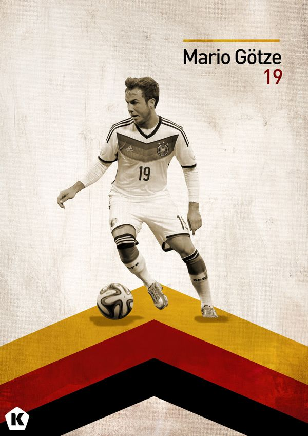 Top 5 Youngsters at the World Cup | KICKTV by Luke Barclay, via Behance