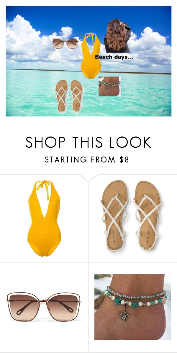 """""""Hey Bahamas"""" by outfit-creator ❤ liked on Polyvore featuring Eres and Chloé"""