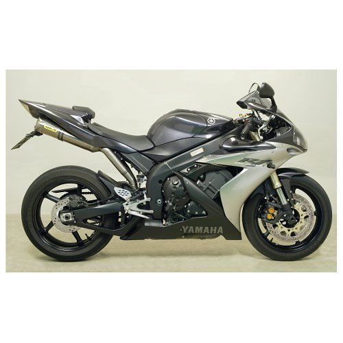 Arrow Thunder Slip-On Exhaust Yamaha R1 2004-2006 at RevZilla.com