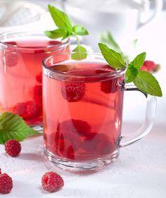 Chá gelado de Morango e Mate