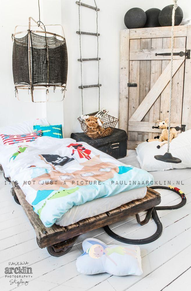 Kinderkamer inspiratie - kids rooms - Voor meer kinderkamers kijk ook eens op http://www.wonenonline.nl/slaapkamers/kinderkamer/