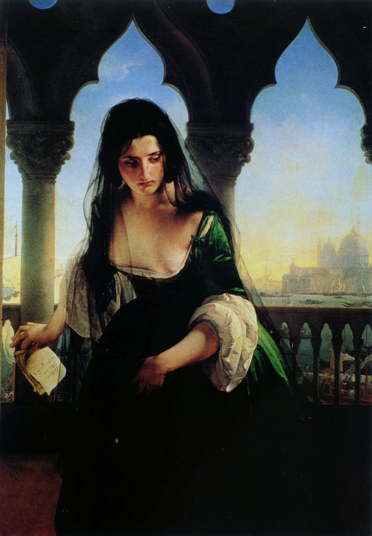 Francesco Hayez - Accusa segreta (1847)