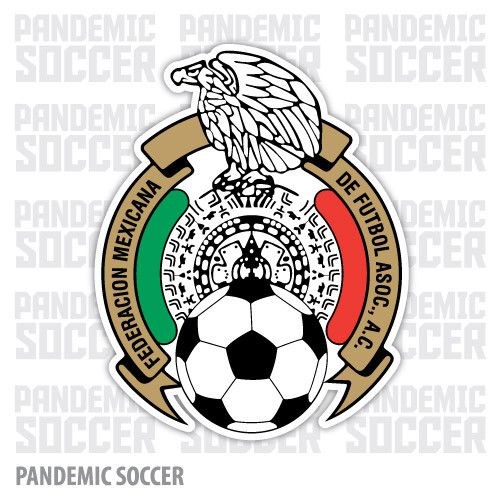 Seleccion Mexicana Futbol Vinyl Sticker Decal Calcomania