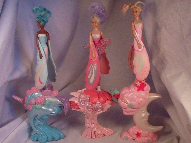 Les poupées volantes Sky Dancer. | 44 jouets que tous les enfants des années 1990 voulaient pour Noël