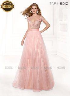 Vestido de festa longo em tule com renda KARDELEN 92400 : Dstore, As Melhores Grifes dos EUA - Site Oficial