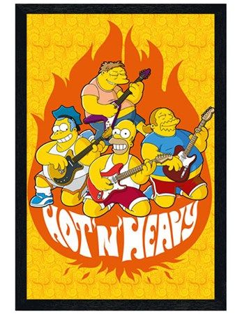Beer; A Temporary Solution, Homer Simpson Poster - Buy Online