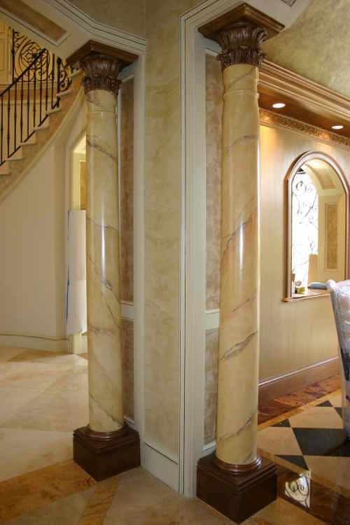 16 best images about interior columns on pinterest for Premade columns