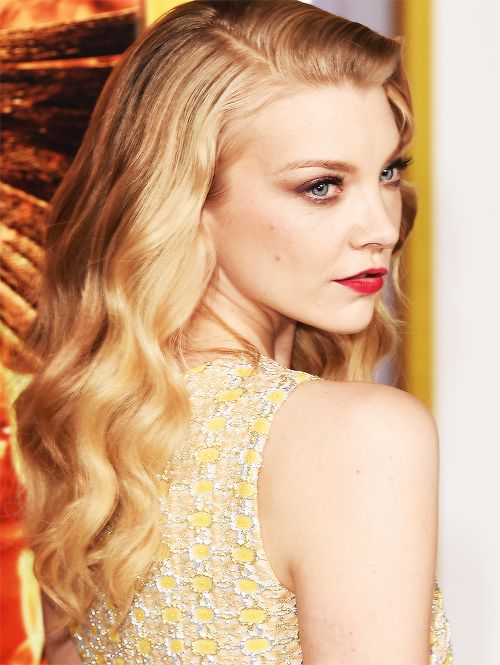 Natalie Dormer attends the premiere of Lionsgate's 'The Hunger Games: Mockingjay - Part 1' on November 17, 2014 in Los Angeles.