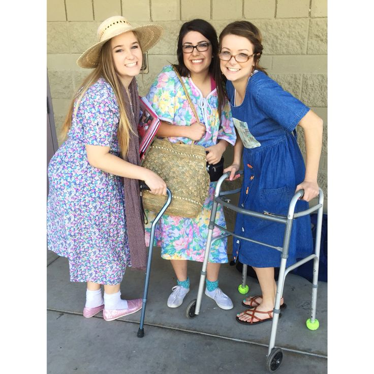 Elderly day: spirit day idea