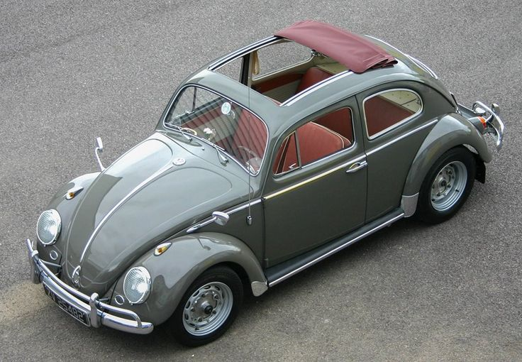 1962 Volkswagen Beetle Ragtop with Porsche 356 Running Gear