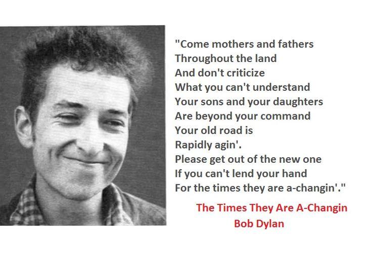 7-Bob Dylan Lyrics With Photos