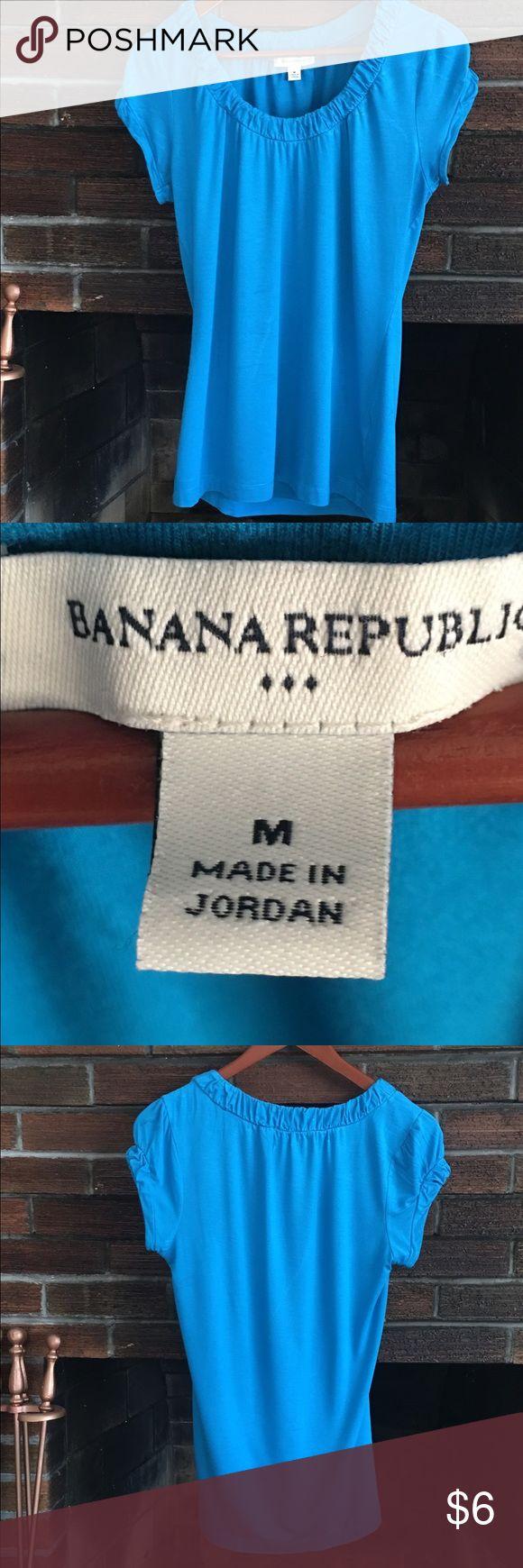 Teal Banana Republic Tshirt Teal Banana Republic Tshirt Banana Republic Tops Tees - Short Sleeve