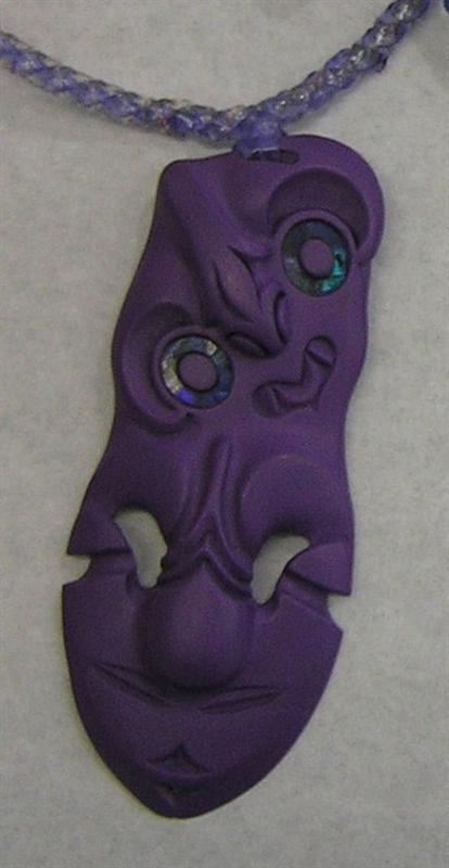 Resin Tiki - Purple