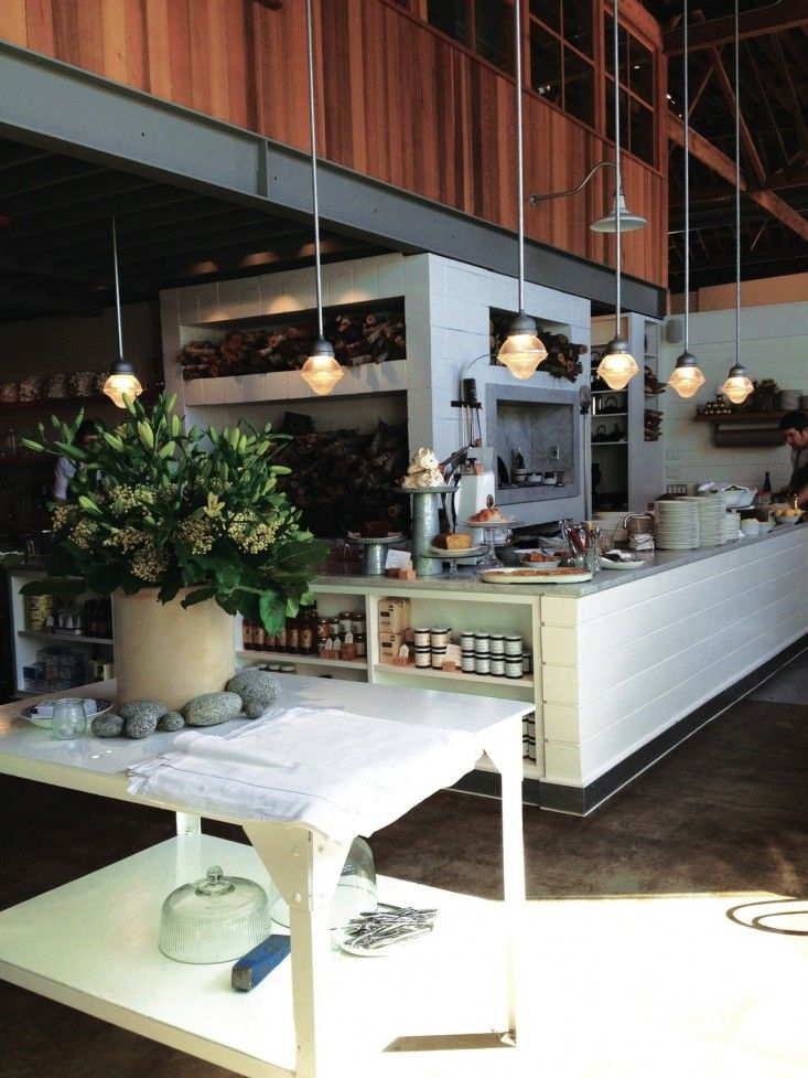 Simple table centerpiece. The Whale Wins Seattle Restaurant/Remodelista