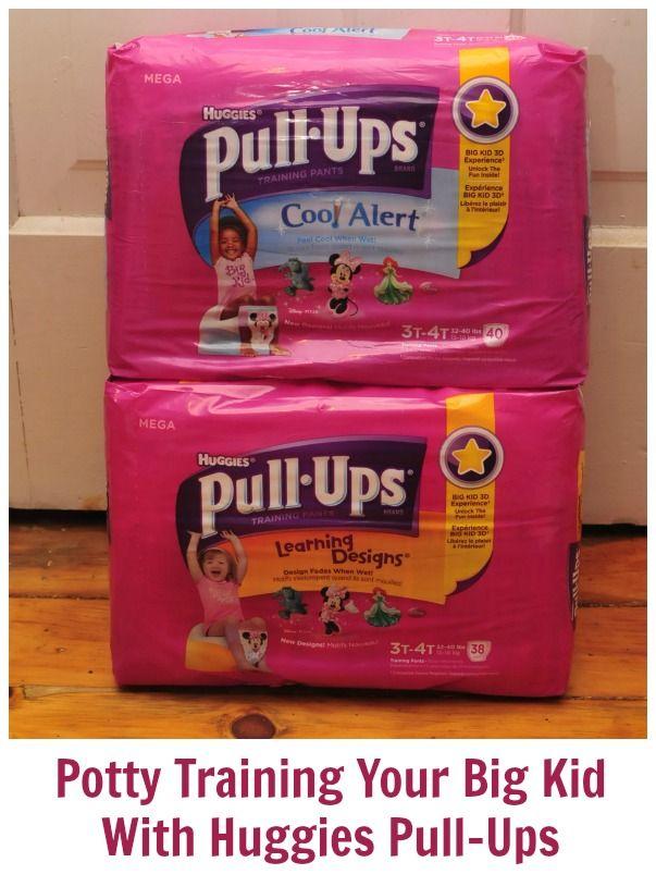 Potty Training Your Big Kid With Huggies Pull-Ups