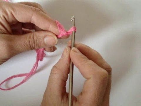 slip stitch:  Вязание крючком для начинающих - Урок 1. Первая петля - YouTube