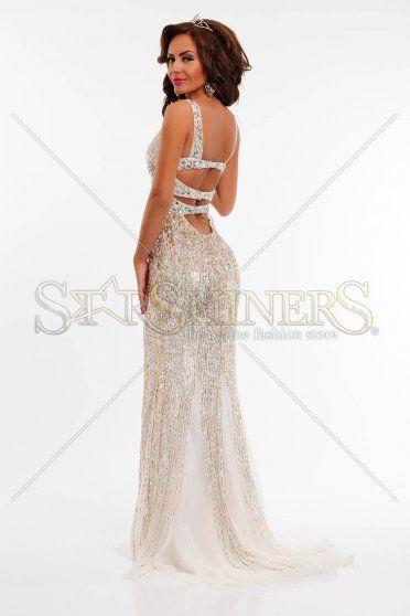 Rochie Sherri Hill 8514 White