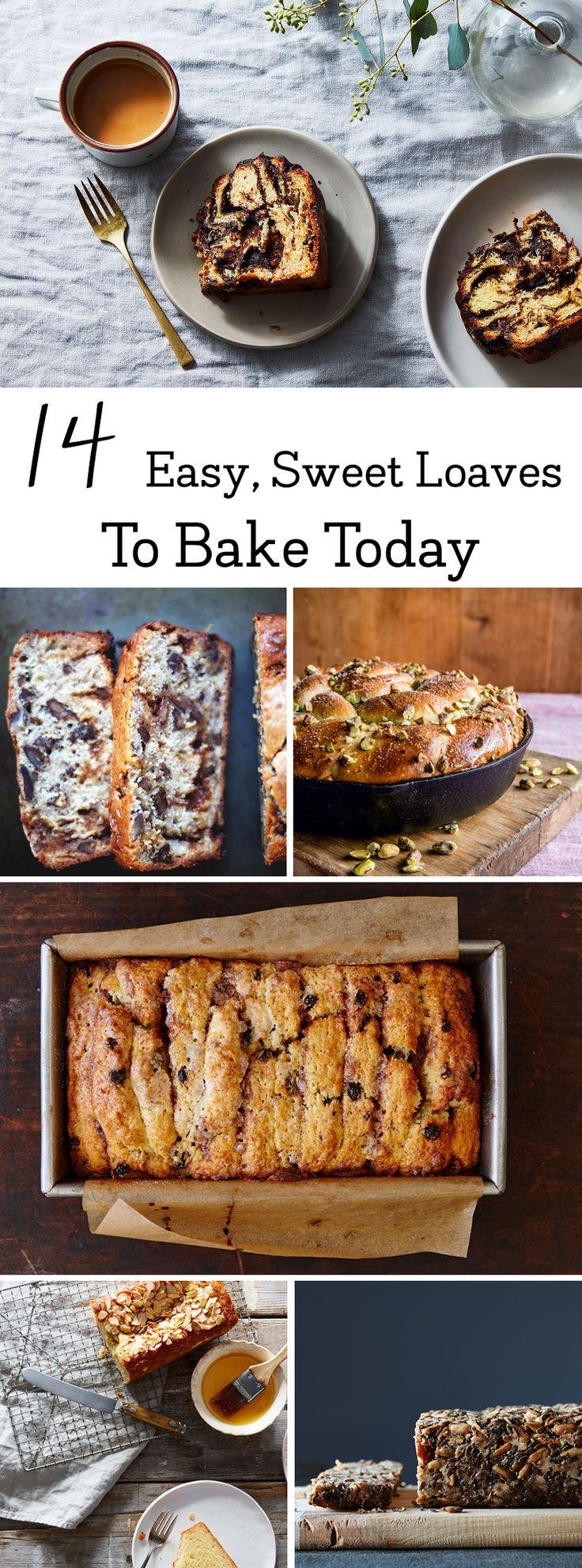 14 Easy #SweetBread #recipes to bake today!