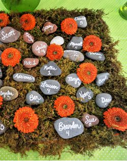 Table cards - rocks!