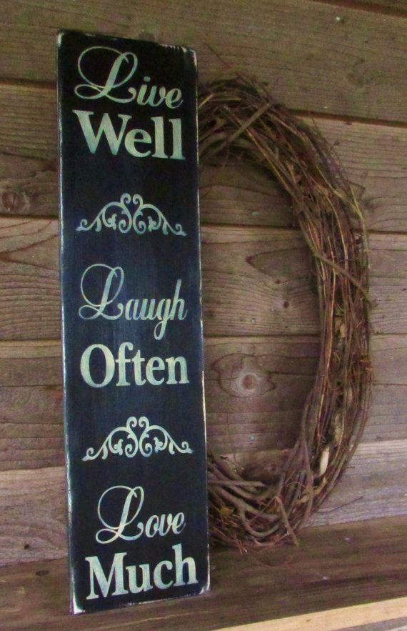 Hey, I found this really awesome Etsy listing at https://www.etsy.com/listing/159285189/inspirational-primitive-country-sign