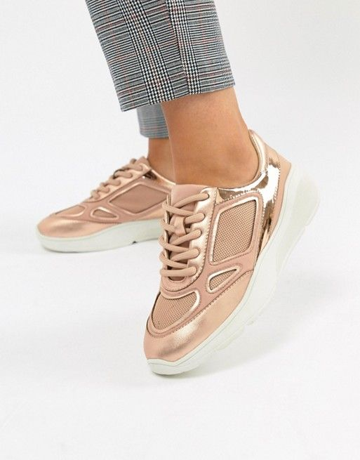 6ca6113d7147 Steve Madden Current Rose Gold Sneaker
