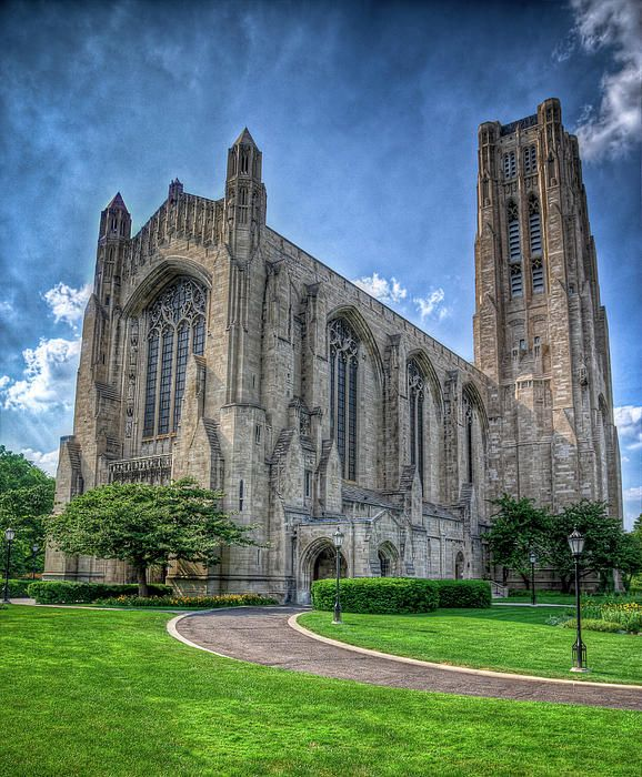 Rockefeller Chapel, University of Chicago, Chicago, IL