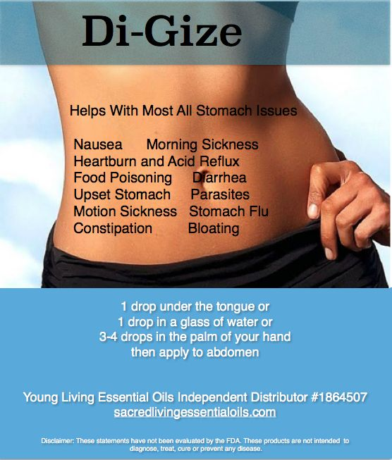 I have personally been using DiGize for the past year to control acid reflux issues. I was taking a popular prescribed medication for over twenty years 2 times a day and still having problems. I no longer need the prescribed medication and DiGize is all I use. I just rub 3-4 drops on my abdomen prior to bed.
